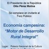 Economa campesina: &quot;motor de desarrollo rural&quot;
